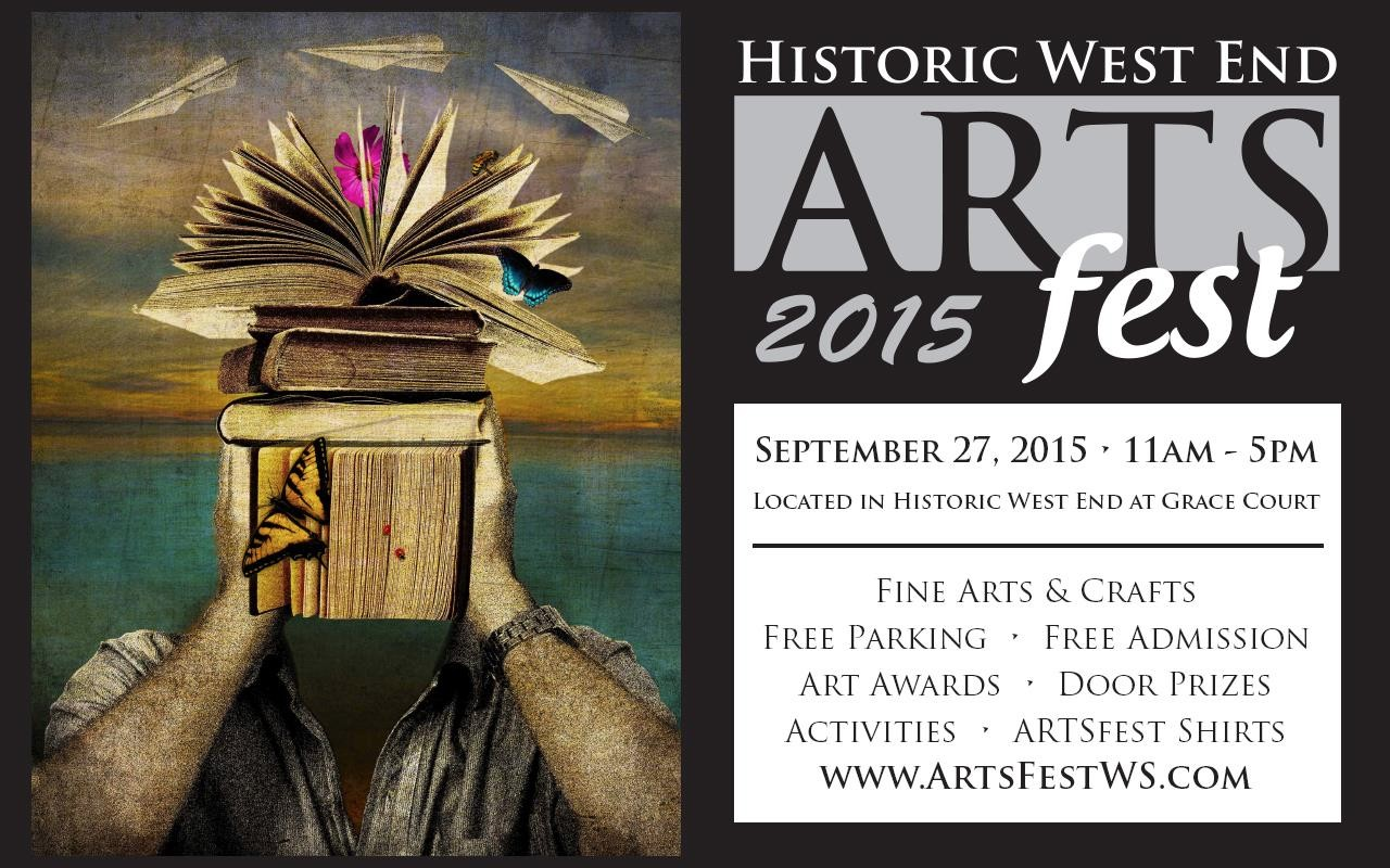 Arts Fest 2015 Grace Court, Winston Salem
